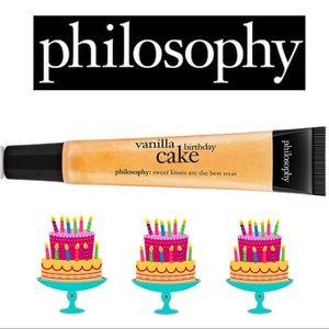 Philosophy Vanilla Birthday Cake Lip Gloss & Shine